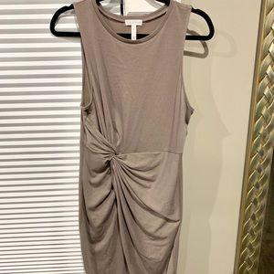 Leith twist front t-shirt dress